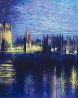 Marc Todd Dusk Over Westminster London Painting Wychwood Art
