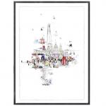 crazy town -  Laura Jordan - Wychwood Art