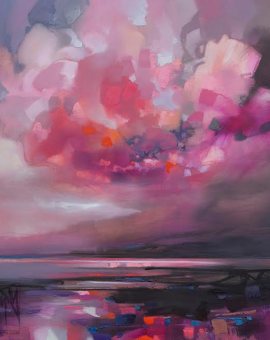 100cm Dispersing Magenta Wychwood Art Scott Naismith