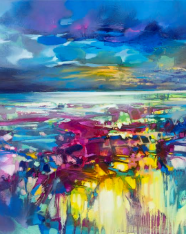 80 x 80cm Light on Ardnamurchan Scott Naismith Wychwood Art