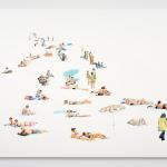 Beach Parasol_Wychwood Art_Annabelle Shelton
