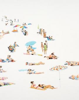 Beach Parasol_Wychwood Art_Annabelle Shelton (2)