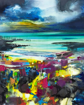 Harris Blue - Scott Naismith - Wychwood Art