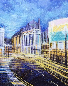 MARC TODD PICCADILLY CIRCUS AT NIGHT WYCHWOOD ART