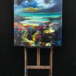 Scott Naismith - Abstract Landsape artist - Wychwood Art