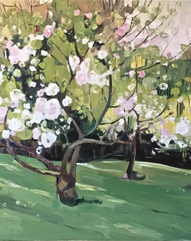 Elaine Kazimierczuk Apple Blossom by the Dell Wychwood Art