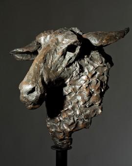 Jane Shaw - MrsDarling  - Sheep's Head - Wychwood Art 76