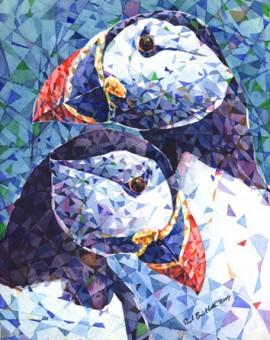 Puffin-Pair-Paul-Bartlett-Wychwood-Art