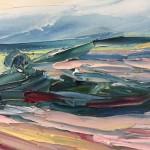 Textured-painting-Landscape-rupert-aker-deddington-wychwood-art