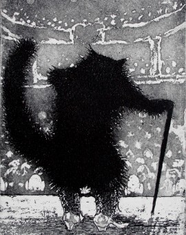 Tim Southall. Old Puss in Boots. Wychwood Art