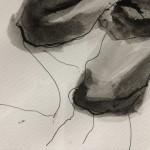 Mary Knowland, Twisting, Original Art for Sale, Figurative Art 10