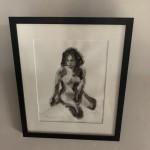 Mary Knowland, Twisting, Original Art for Sale, Figurative Art 2