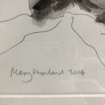 Mary Knowland, Twisting, Original Art for Sale, Figurative Art 9