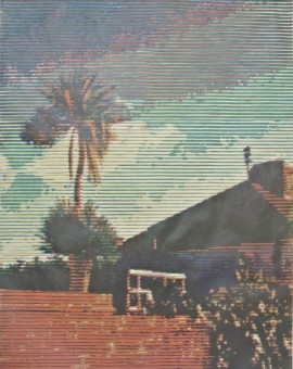 Trevor Banthorpe, Palmhouse 1, Woodblock print, 60x45cm, £450