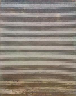 Trevor Banthorpe, Vista 2,Woodblock print, 57x43cm, £450