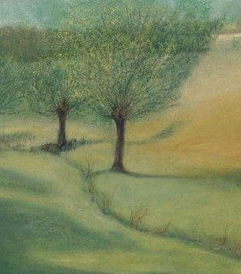 Swinbrook willow trees A4 and A3