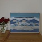 Patchwork of Fields framed