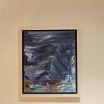 London Blue Gherkin hanging detail