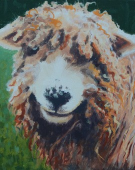 Margaret Crutchley  Bad Hair Day  Original Animal Portrait