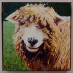Margaret Crutchley  Bad Hair Day, framed