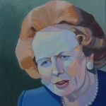 Margaret Crutchley  Margaret Thatcher  Original Portrait