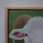Margaret Crutchley  Only Ewe, framed