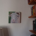 Margaret Crutchley  Only Ewe, on wall 1