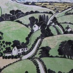 Michael Atkin, The Road Home, Cotswold Art, Contemporary Landscape Art 3