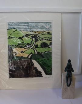 Michael Atkin, The Road Home, Cotswold Art, Contemporary Landscape Art 6