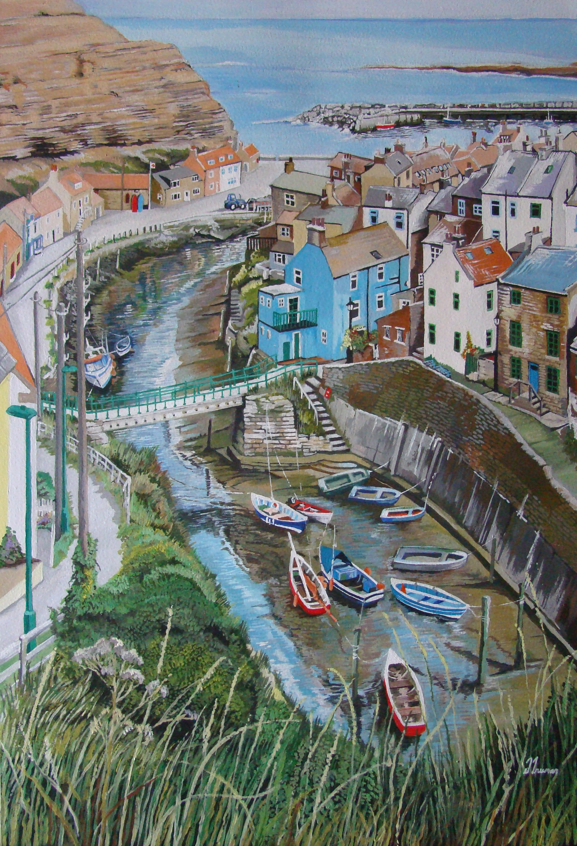 Step into Staithes