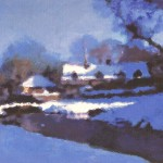 Upper Slaughter Painting