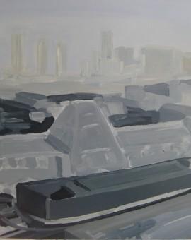 London Skyline Triptych part 1