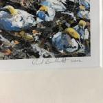 Out of Chaos Comes Order by Paul Bartlett - Limited Edition Print - Animal Art - Bird Art - Bird Island Art - Family Art - signature