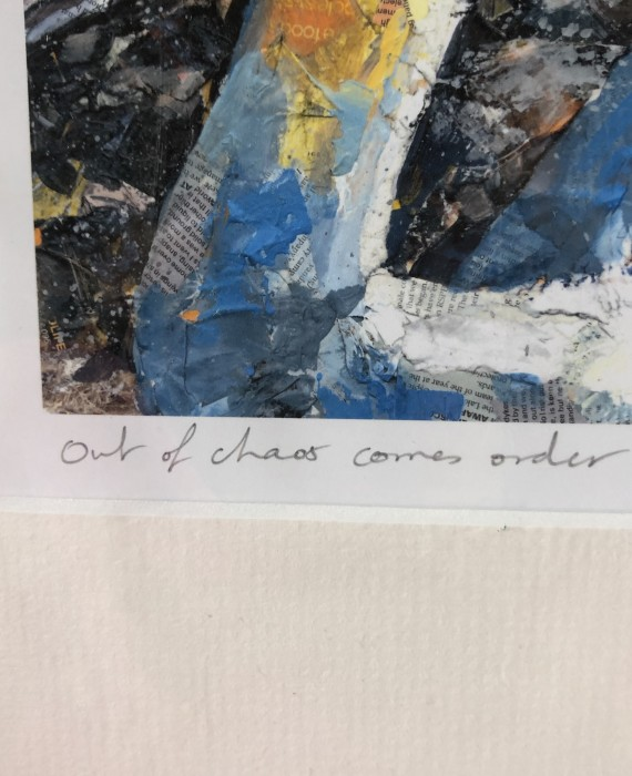 Paul Bartlett Out Of Chaos Comes Order Collage Conservation Art