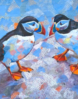 Puffin pair (thumb)