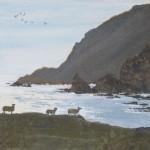fitful head shetland evening judith yarrow painting