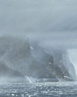 judith yarrow limited edition print st johns cliffs hoy orkney 2