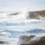 shetland Eshaness waves