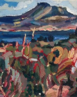 Almyrida- oil on canvas 2013- 35cm x 27cm
