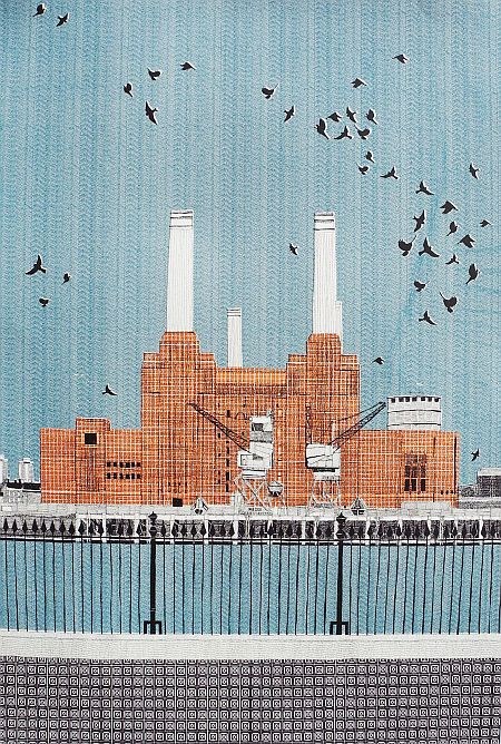 Battersea Power Station. £300, 22 by 30 inches