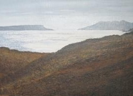 Eigg and Rhum, Judith Yarrow, Wychwood Art