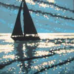 Gordon Hunt Sailing the Serene sea Wychwood Art