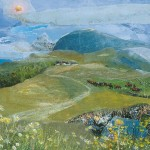 Judith Yarrow, Dream Mountain, affordable art, Wychwood Art
