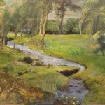 Judith Yarrow, Stream Idyll, affordable art, Wychwood Art