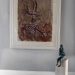 Kate Knott, Fallow Deer, Animal Art