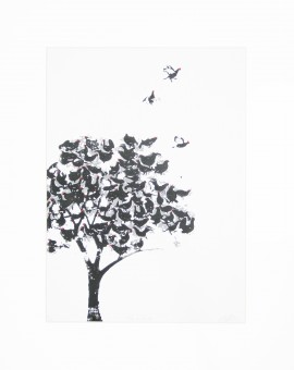 Katie Edwards-Tree of Grouse-Screen print