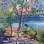 Kimni Kourna- oil on canvas 2014- 41cm x 31cm
