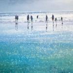 Michael Sanders sparkling beach print