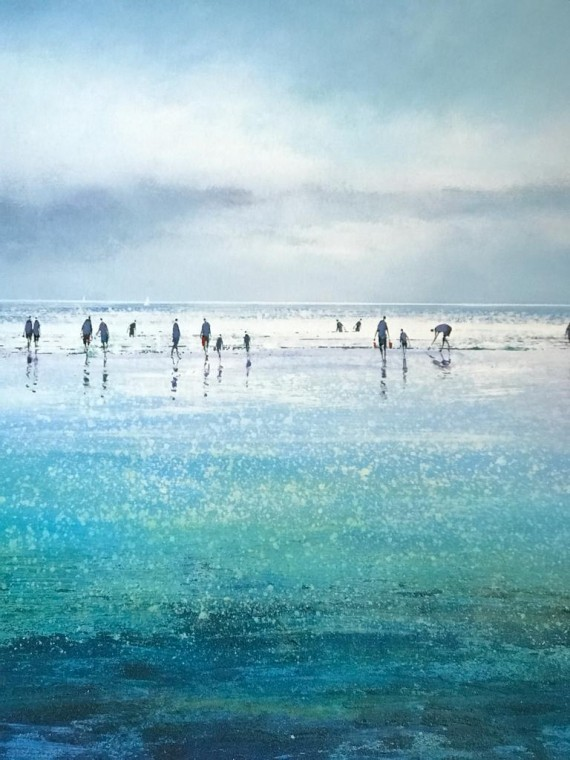 Michael Sander Sparkling beach in Cornwall