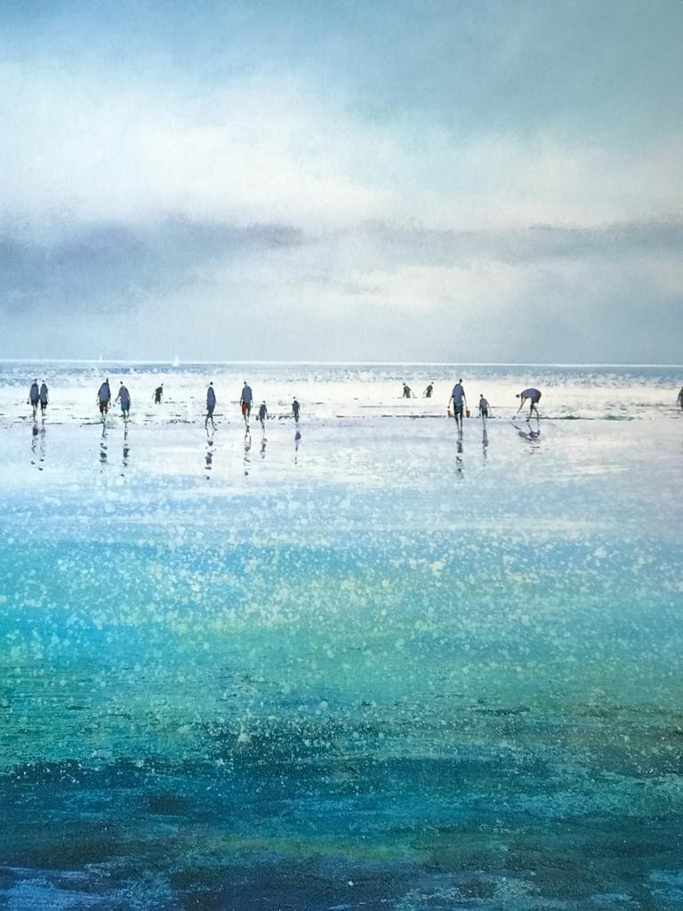 Michael Sander Sparkling beach in Cornwall